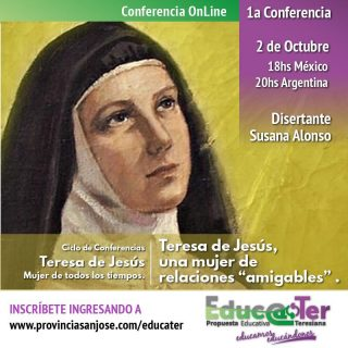 Teresa de Jesús relaciones amigables