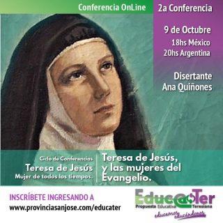 Teresa de Jesús y las mujeres del evangelio