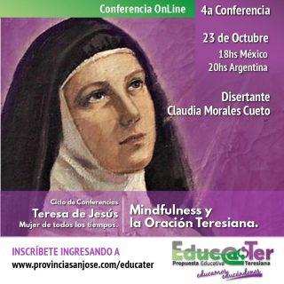 Conferencia Mindfulness y oración teresiana