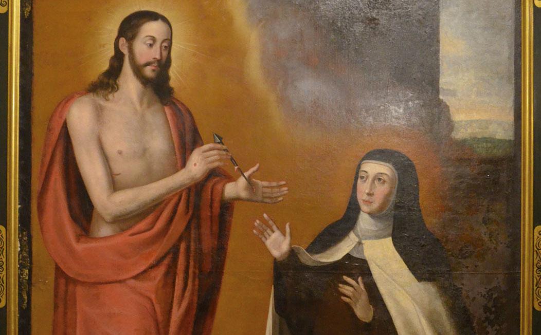 Matrimonio espiritual santa Teresa