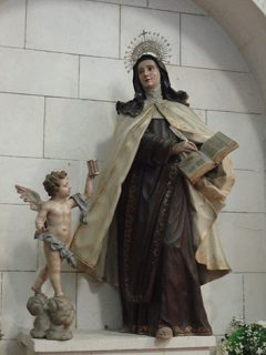 Santa Teresa maestra