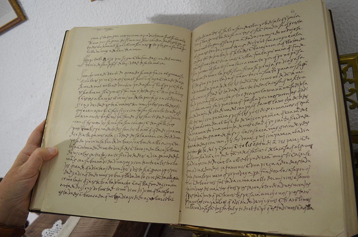 Manuscrito Camino de perfección